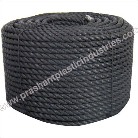 Twisted PP Black Rope