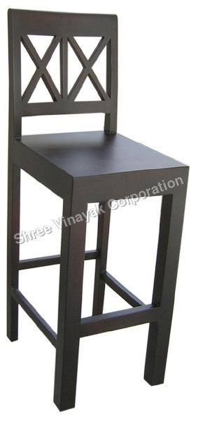 Wooden Bar Chair-SV09017