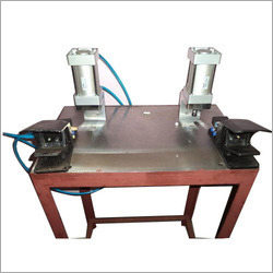Pneumatic Button Machine