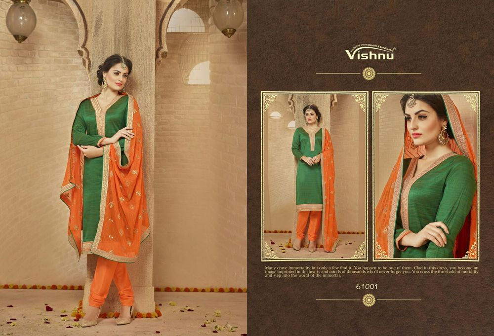 Embroidery Dupatta Work Suit