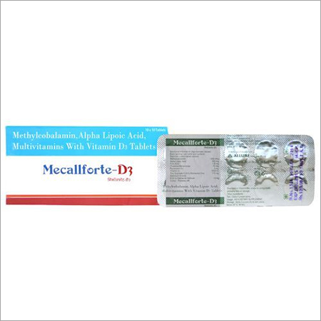 Methylcobalamin Alpha Lipoic Acid, Multivitamins with Vitamin D Tablets