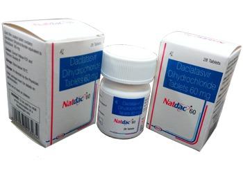 Daclatasvir Tablets 60 mg Natco