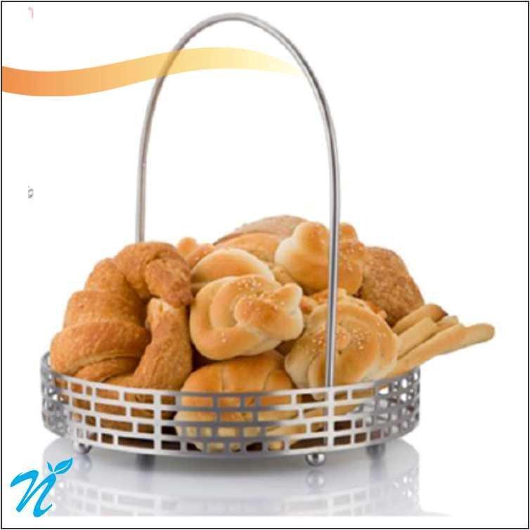 "artt d inox ""Lofa Bread Basket"""