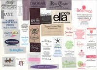 FABRIC PRINTED LABELS are