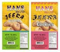 Bakery Product Packing Sticker