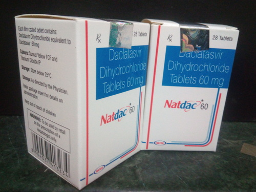 NATDAC 60 mg  (FOR SALE IN INDIA)