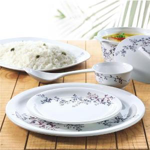 Borosil 35 Pc Melamine Dinner Set - English Summer