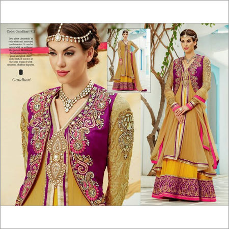 Wedding Embroidery Anarkali Dress