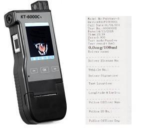 KT-6000C Breath Analyzer, inbuilt Printer With Camera