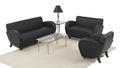 Leather Reception Sofa