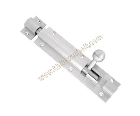 Aluminium Plain Tower Bolts