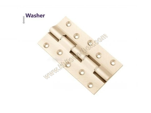 Brass Railway Lock Washer Hinges