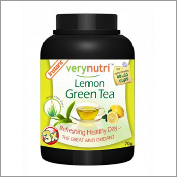 Lemon Green Tea Powder (40 Cups)