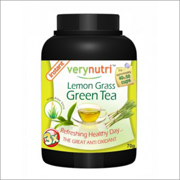 Lemongrass Green Tea Powder (40 Cups)