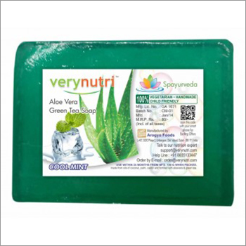 Aloe Vera And Green Tea Soap (100 Grams)