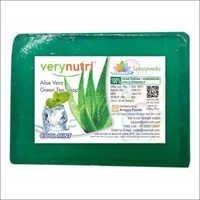 Aloe Vera And Green Tea Soap (100 Grams)