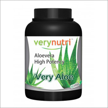 Aloe Vera High Potency Capsules (30 Days Pack)