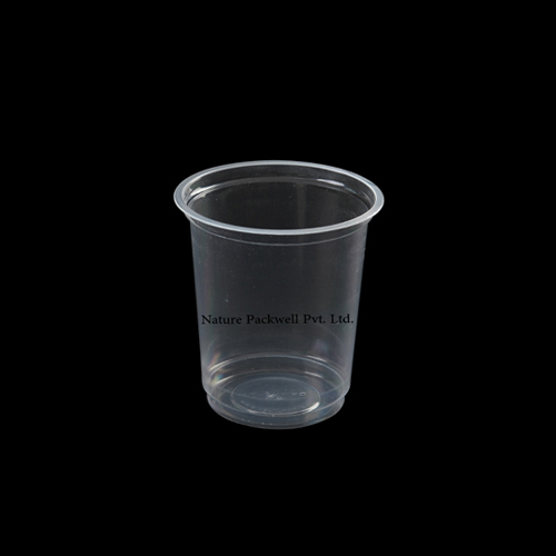 Large Disposable Plastic Glass