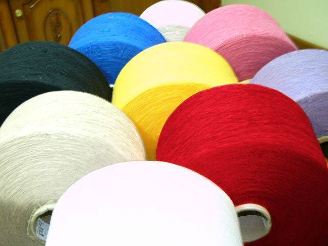 Colored Shoddy Yarn