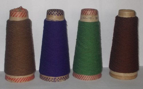 Colored Woolen Yarn