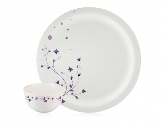 Dinner Set Milano (Lavander - 22 Pcs)