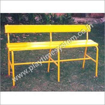 Yellow Color Garden Bench