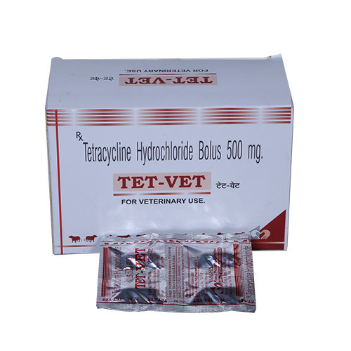 Tetracycline Hydrochloride Bolus