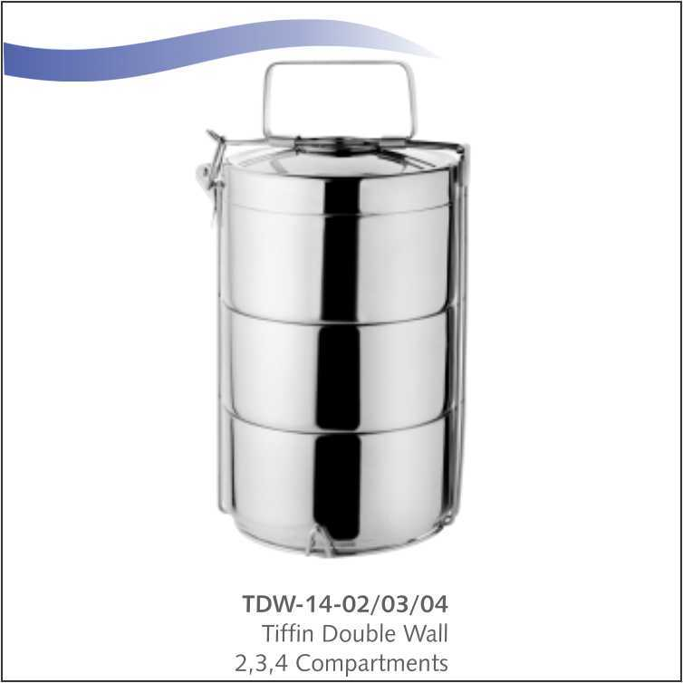 Tiffin Double -Wall 4 Compartment