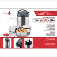 Power plus 'Meal Deal' insulated SS Lunch box