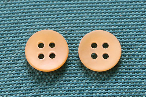 Wooden Shell Button