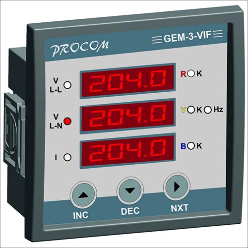 Electronic Digital Panel Meters