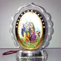 Car Dashboard Radha Krishna