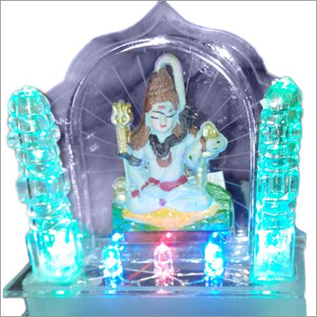 God Shiv Car Dashboard Temple
