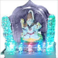 God Shiv Car Dashboard Temple