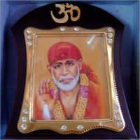 Shirdi Sai Car Dashboard Temple
