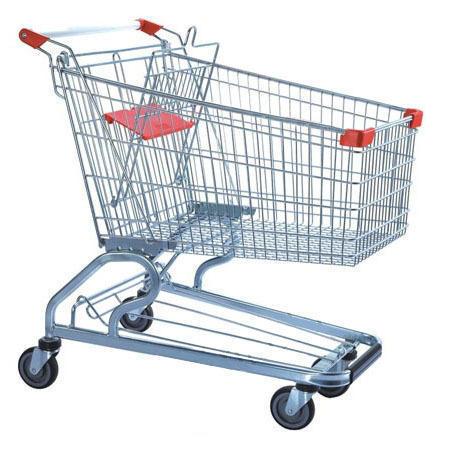 Steel Shopping Trolley