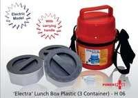 Power Plus Electra Lunch Box Plastic -Containers