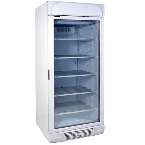 Vertical-single-glass-door-freezer-