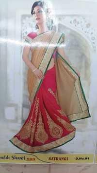 Attractive Designer Saree