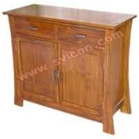 WOODEN SIDEBOARD 2 DOOR 2 DRAWER