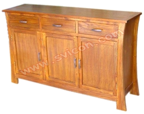 WOODEN SIDEBOARD 3 DRAWER 3 DOOR