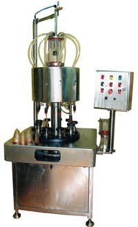 ROTARY PERFUME BOTTLE FILLING MACHINE- 9 HEAD