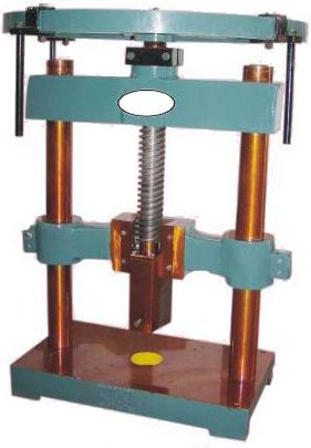 Paper Plate Hand Press Machine