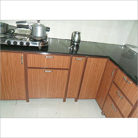 Aluminium Interior Modular Kitchen