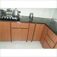 Aluminium Interior Modular Kitchen