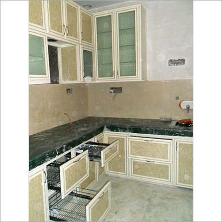Customized Aluminium Modular Kitchen