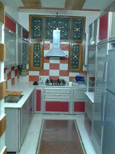 Designer Aluminium Modular Kitchen