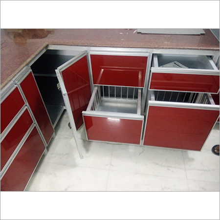 Stylish Aluminium Modular Kitchen