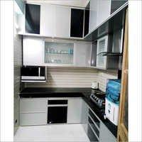 Fancy Aluminium Modular Kitchen