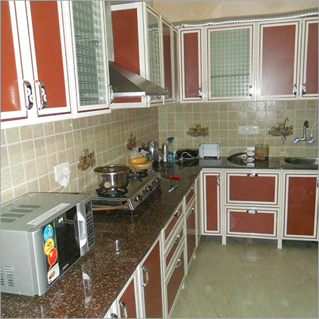 Fully Aluminium Modular Kitchen